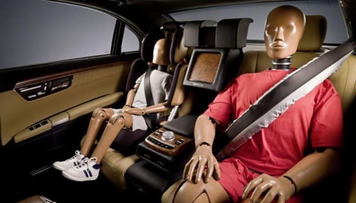 cinturón de seguridad y sus diferentes tipos y test