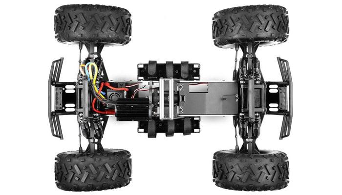motor en v tracción