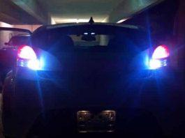 luces de marcha atrás