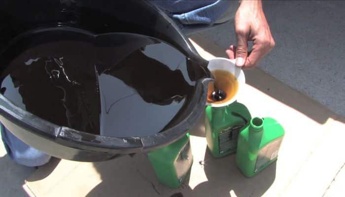 Que daños produce el aceite de motor al medio ambiente