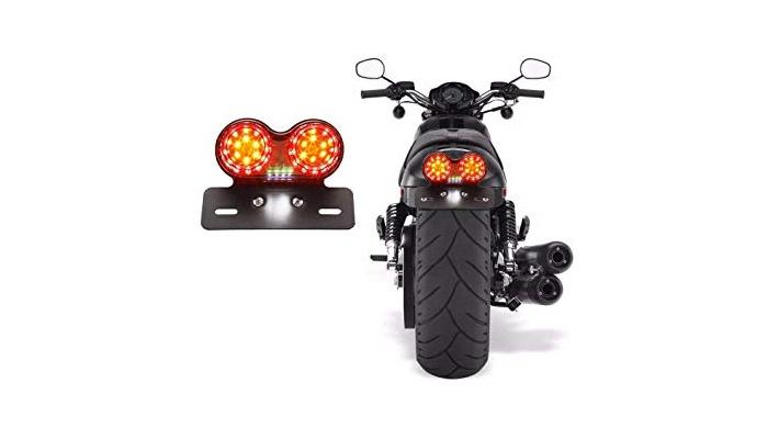 Luz trasera para motos