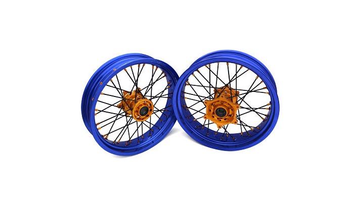 Tipos de ruedas para motos